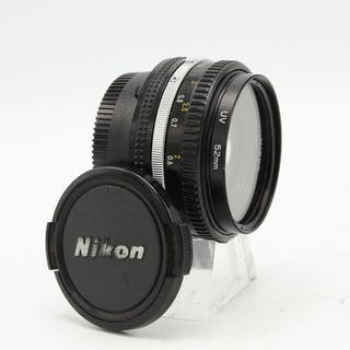 Nikon Nikkor 50mm f/1.8 objectief
