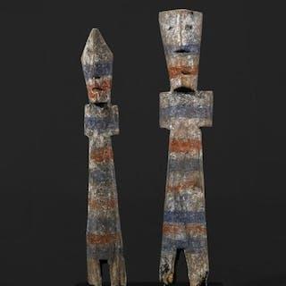 Skulptur - Holz - Dangme - Ghana