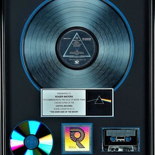 Pink Floyd - Dark side of the Moon - Presented to Roger...