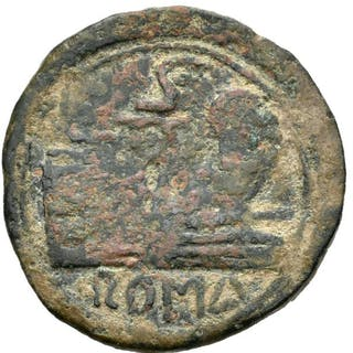Römische Republik - Anonymous Semis minted in Rome after 211 B.C