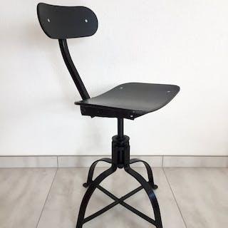 Bienaise - Workshop chair Metal and Wood