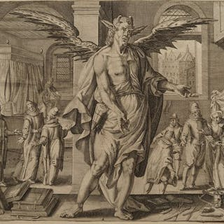 Johann Gelle (1580-1625) after Egbert Van Panderen...