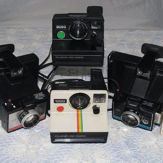 Polaroid 4X Polaroid- model 1000-3000-Colorpack II-Colorpack 80