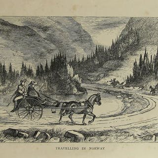 Lady Di Beauclerk -A Summer and Winter in Norway - 1868