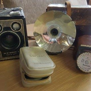 Kodak Six 20 'Brownie' E + Flsh + lichtmeter