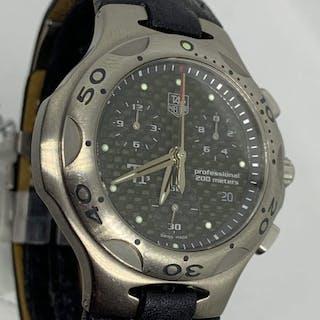 TAG Heuer - kirium TI5 titanium - CL1180 chronograph - Herren - 2000-2010