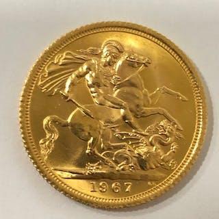 United Kingdom - Sovereign 1967 Elizabeth II - Gold