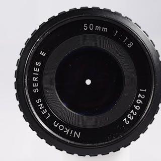 Nikon digital y analogico50 mm 1.8 completo