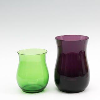 De Lorm - Glasfabriek Leerdam - Becher (2) - Glas