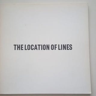 Sol Lewitt - The Locations of Lines - 1974