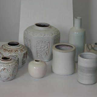 Mobach, Utrecht - einschließlich 3 Ingwergläser (8) - Keramik