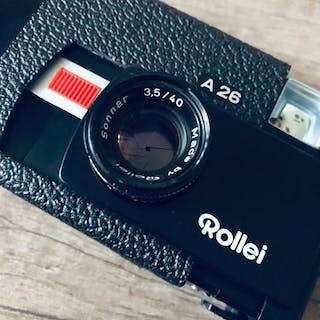 Rollei A26 + Carl Zeiss Sonnar 40mm F3.5