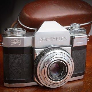 Zeiss Ikon Contaflex II (862/24) très beau avec étui1954