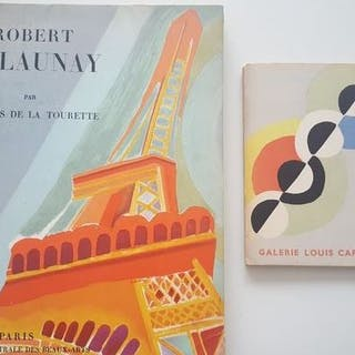 Robert Delaunay - Lot mit 2 Publikationen - 1946/1950