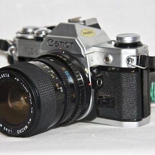 Canon AE-1 +EXAKTA 28-70mm