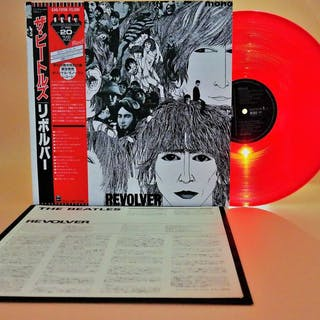Beatles -  (Revolver in red )The Beatles/limited...