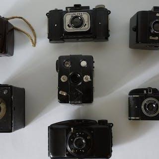 Verzameling bakelieten camera's Bakelieten Camera's