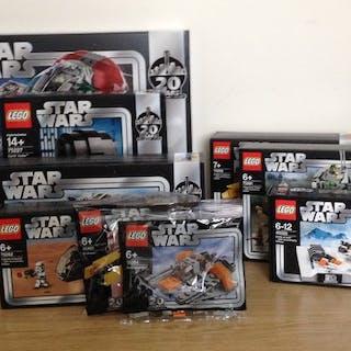 LEGO - Star Wars - Komplette Sammlung zum 20-jährigen Jubiläum