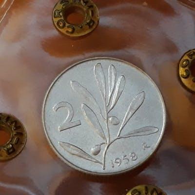 Italia - Repubblica Italiana - 2 Lire 1958