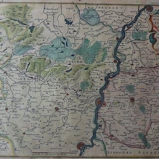 Belgien, Luik; Nicolas de Fer - La Partie septentrionale...