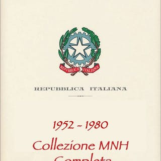 Italien Republik 1952/1980 - Complete collection of the...