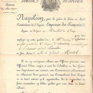 Marechal d'Empire Davout Prince d'Eckmuhl et Duc...