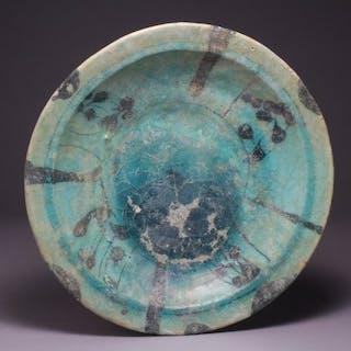 Coupe - Céramique siliceuse - Perse - Empire Seljoukides