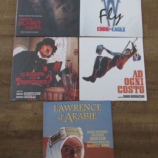 Various Original Soundtracks - 5 LP lot soundtracks War...