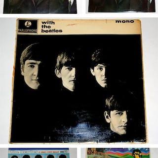 Beatles -5 Beatles Albums - Multiple titles - LP's - 1963/1986