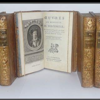 Bernard Le Bouyer de Fontenelle - Oeuvres: contenant les...