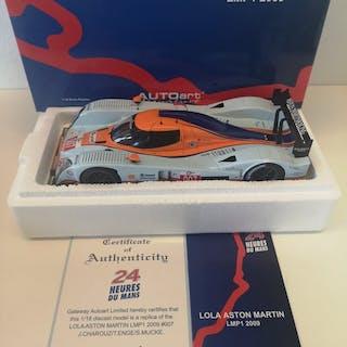Autoart - 1:18 - Lola Aston Martin Lmp1 2009 #007...