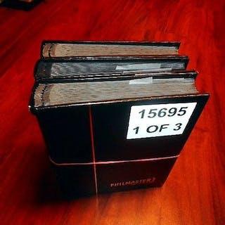 Deutsches Reich - Batch of stamps in three thick stock books