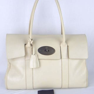 Mulberry - Ivory LeatherBayswater Bag