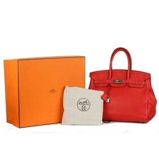 Hermès - Togo Birkin 35 Handbag
