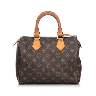 Louis Vuitton - Monogram Speedy 25 Boston Bag