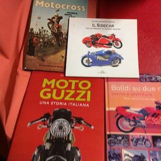 Bücher - Moto Guzzi - Lotto libri storia della moto - 1976-1985