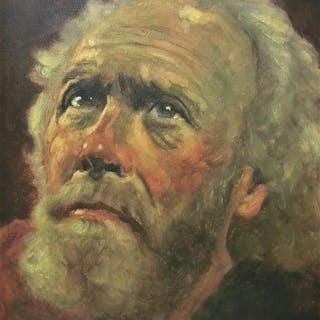 "Jeanne Brandsma (1902-1992) - Portret ""Petrus""."