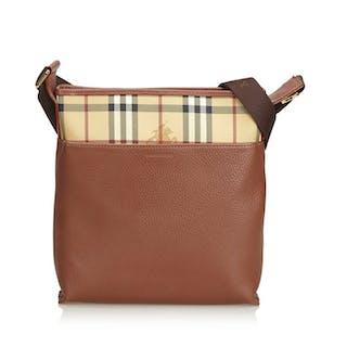 Burberry - Leather Crossbody Bag Crossbody bag