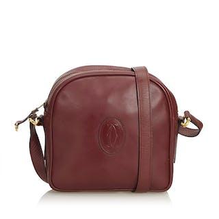Cartier - Leather Must de Cartier Crossbody Bag Borsa a tracolla