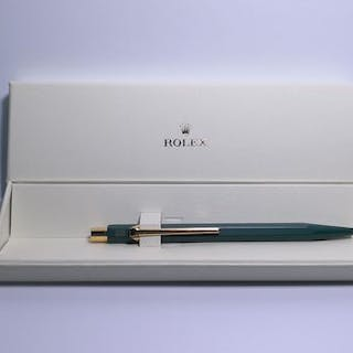 Rolex - Rolex Pen Green Ballpoint in Original Box W/ Logo...