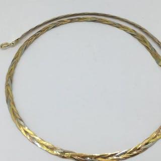18 kt. Tricolour - Necklace