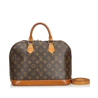 Louis Vuitton - Monogram Alma PM with Strap Handtasche