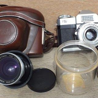 Zeiss IkonCONTAFLEX + Pro tessar 35mm F3.2 + Pro tessar 115mm F4.0