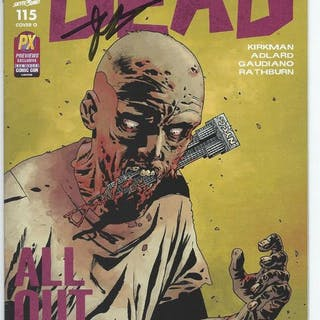 Image Comics - THE WALKING DEAD  #115 signed by Robert Kirkman - EO (2013)
