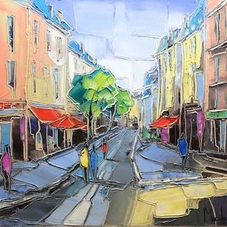 Caroline Mandrafina - Les rues de Paris