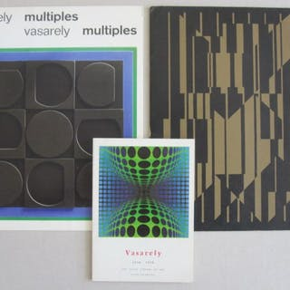 Vasarely - Lot with 3 publications - 1955/1970
