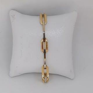 18 kt. White gold, Yellow gold - Bracelet