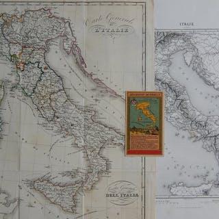 Italien, [Lot of three]; Th