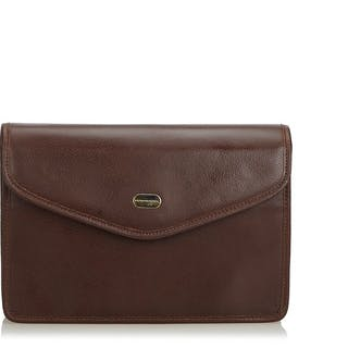Burberry - Leather Clutch Bag Clutch