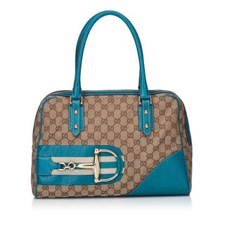 Gucci - Guccissima Horsebit Shoulder Bag Schultertasche